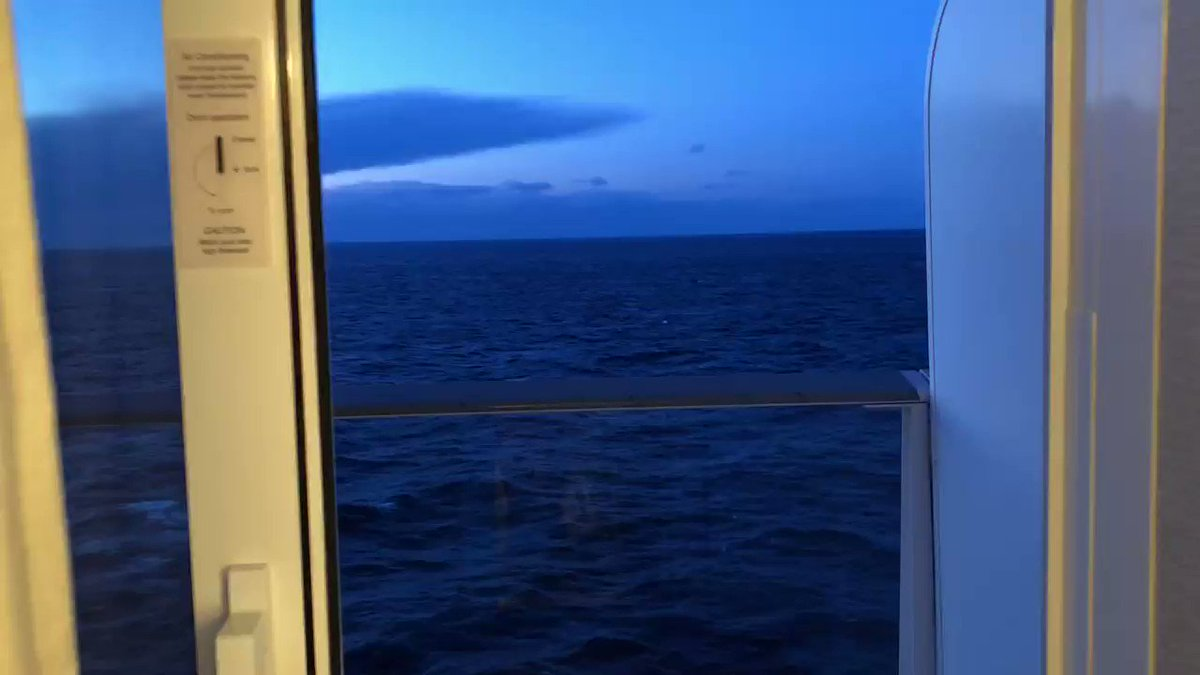 #Carnivalmardigras good morning 2021 it's anchored close to the coast of Spain 🇪🇸 this view looks so sick 😎☘️🍾🛳