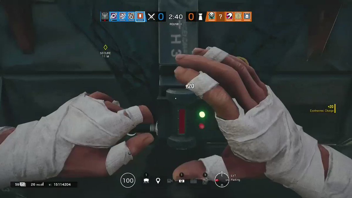Got a pretty nice ace after a 2-3 month break from the game #Rainbow6 #rainbow #RainbowSixSiege #RainbowSix #r6siege #R6S https://t.co/F6n8NA3iDE