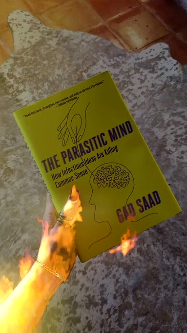 The arming begins in your mind. New reads by @GadSaad! Liberalism is a psychosis that's destroying the