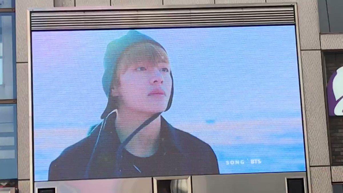 12/30 テテセンイル広告  道頓堀 ③  #BTS #V #태태생일ᄎᄏ   #KimTaehyung