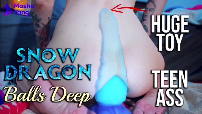 Hey, everyone! Wanna see how I passed one more inch of Snow dragon @erasexa toy today?😝 Then follow my