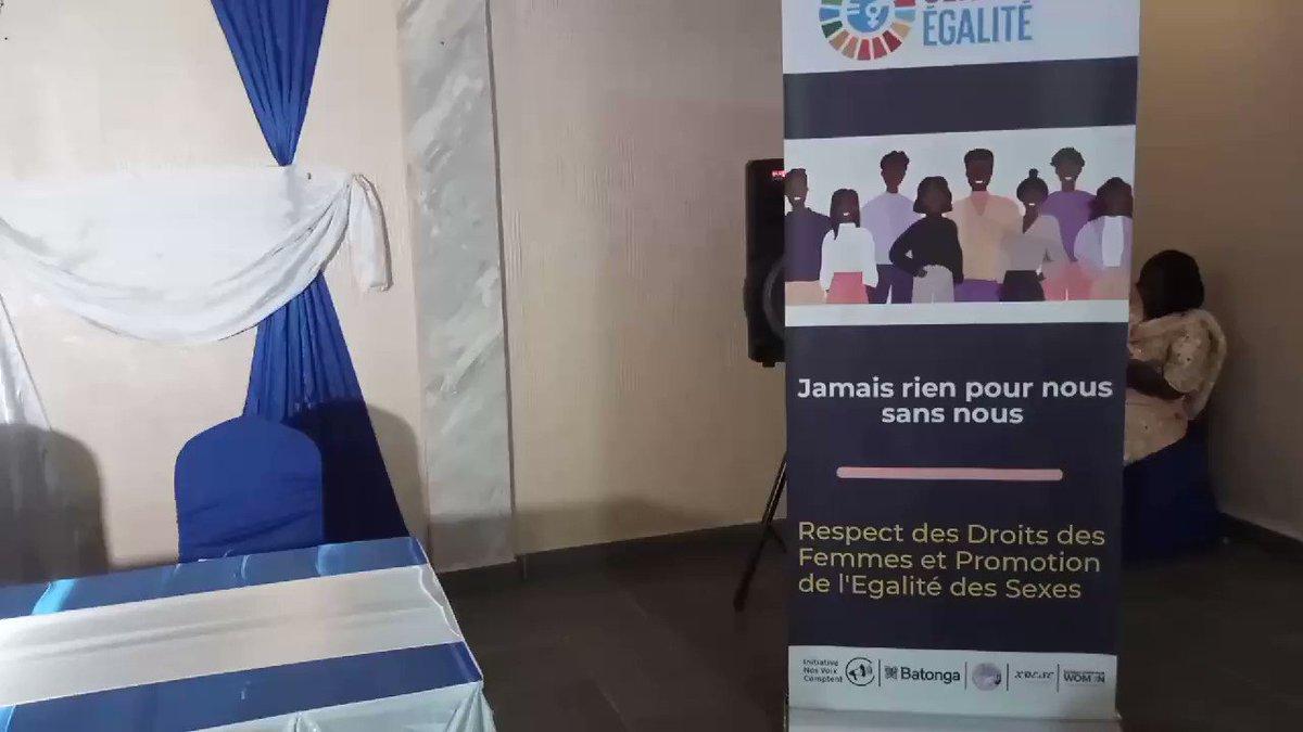 En cours actuellement 3e Consultation @nosvoixcomptent qui réunit les femmes et filles dans le cadre du forum #Génération #Egalité  - amplifier les voix - centraliser les enjeux et les besoins des femmes de l'Afrique francophone @angeliquekidjo @mevowanouchanc1 @EmilyFBove