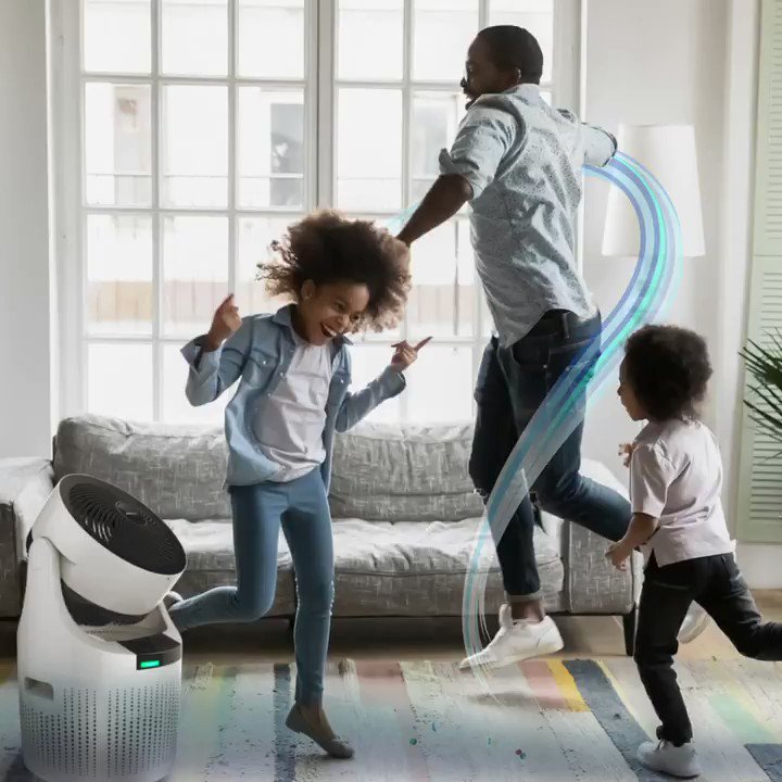 """""""Me and my girls can groove freely with the freshest air."""" Thanks to the 3-in-1 filter HEPA filter, the #acerpure cool ensures clean air at home for you and your loved ones: https://t.co/gl6GdzbiSd https://t.co/04ws5ENPvy"""