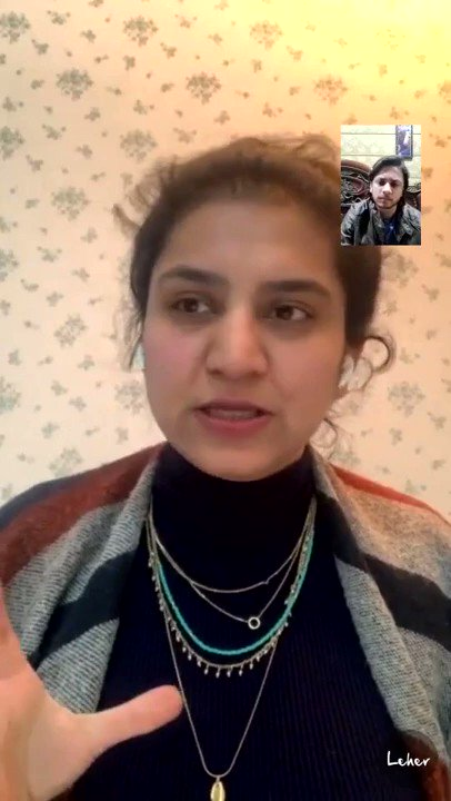 Replying to @leherapp: Aditi Arora, @GirlUp on feminism. Watch the entire conversation at -