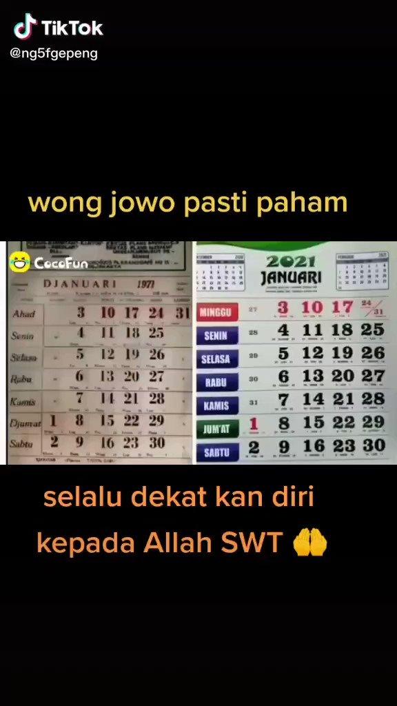 Replying to @merapi_uncover: Wong jowo pasti paham