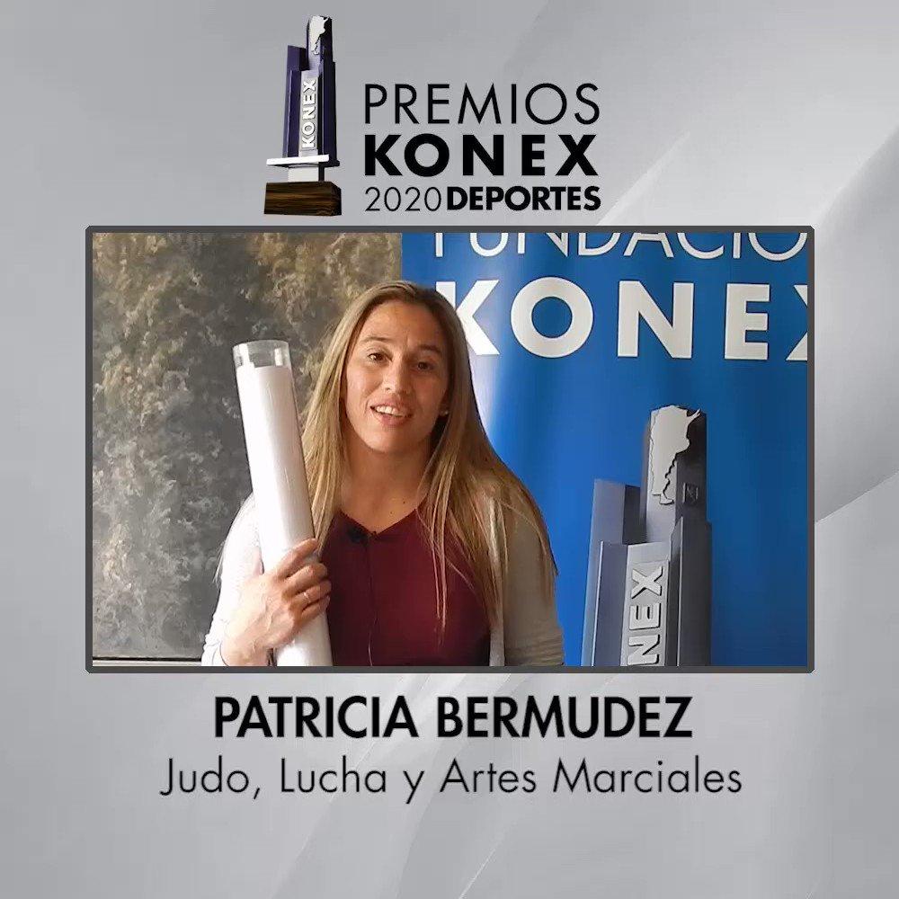 🤼♀️Patricia Bermúdez obtuvo el #PremioKonex como una de las mejores luchadoras de la última década en la #Argentina.   🏆Compartimos sus palabras tras recibir su Diploma.  Aquí su biografía en nuestra web 👇   #judo #lucha #olimpico