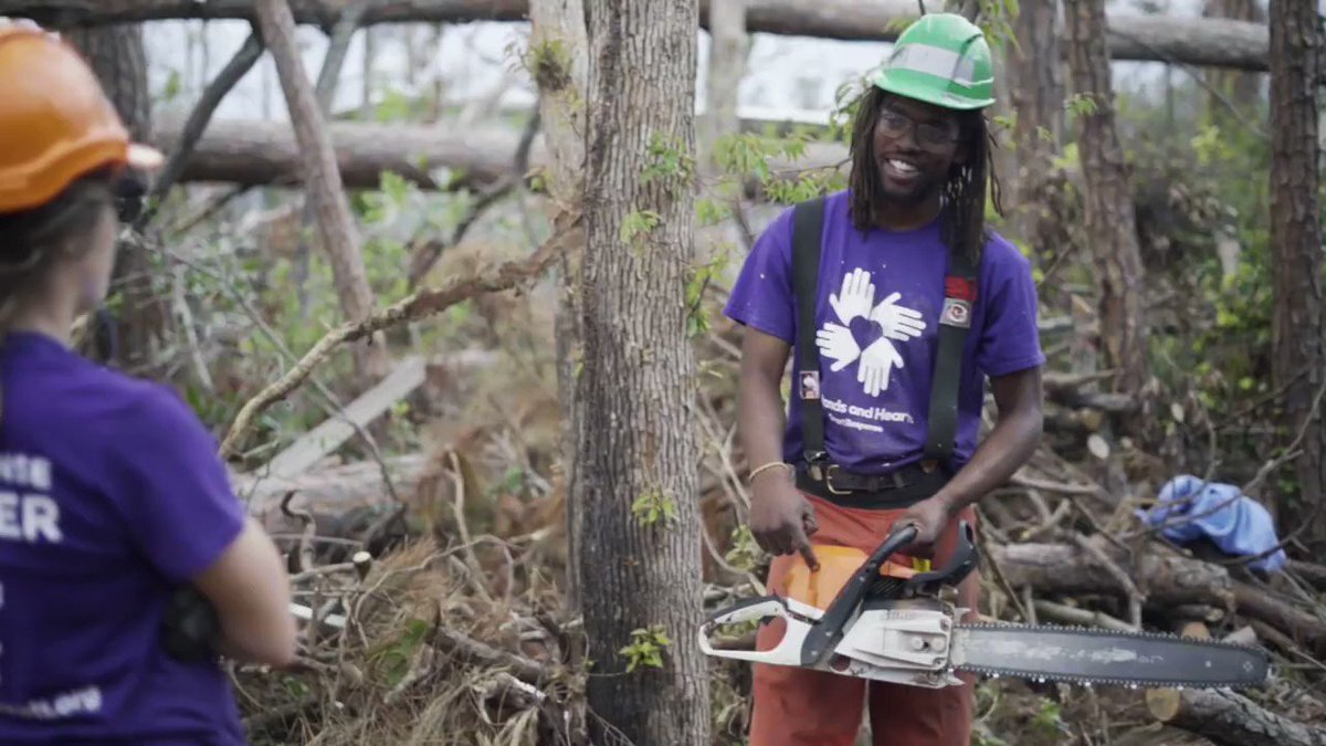 ATTN: The #volunteer application for our #HurricaneRelief program in Louisiana is open now! We're supporting communities that have seen significant damage after #HurricaneLaura and #HurricaneDelta. Apply to join us today!:
