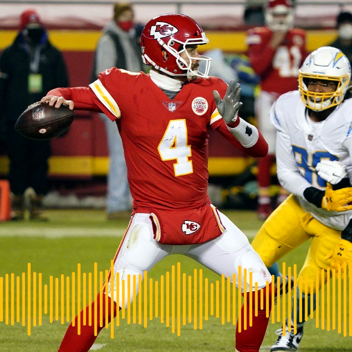 Listen to the Chiefs Radio Network Play of the Game against the Los Angeles Chargers, presented by @Helzberg