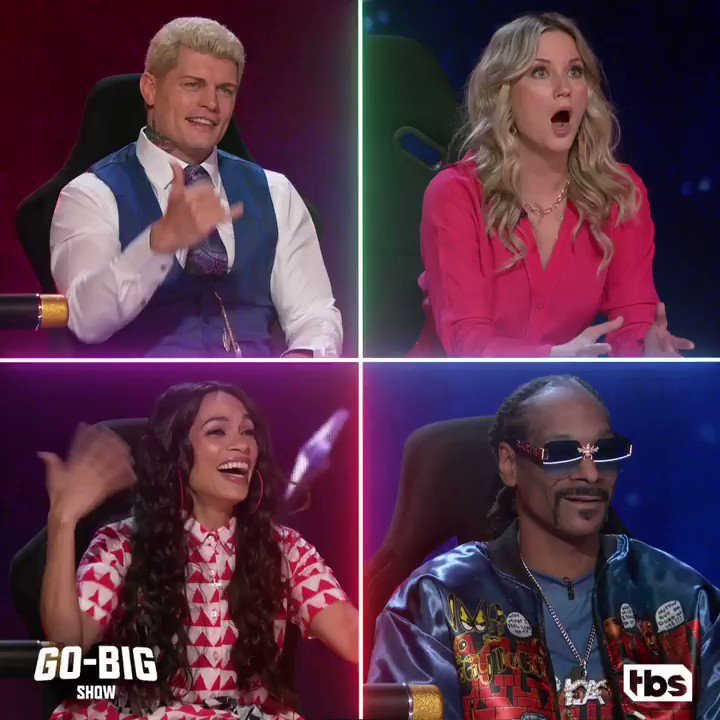Replying to @GoBigShowTBS: These acts are so extreme, that even our judges are 🤯  #GoBigShow