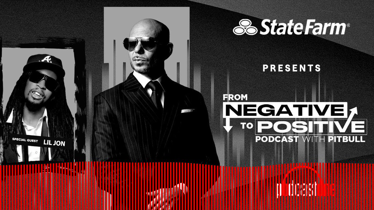 Always great to have my friend, @LilJon on the #negativetopostive podcast. Check out a clip from the show brought to you by the good neighbors at @statefarm. Listen to the whole episode on @applepodcasts here:  Dale!