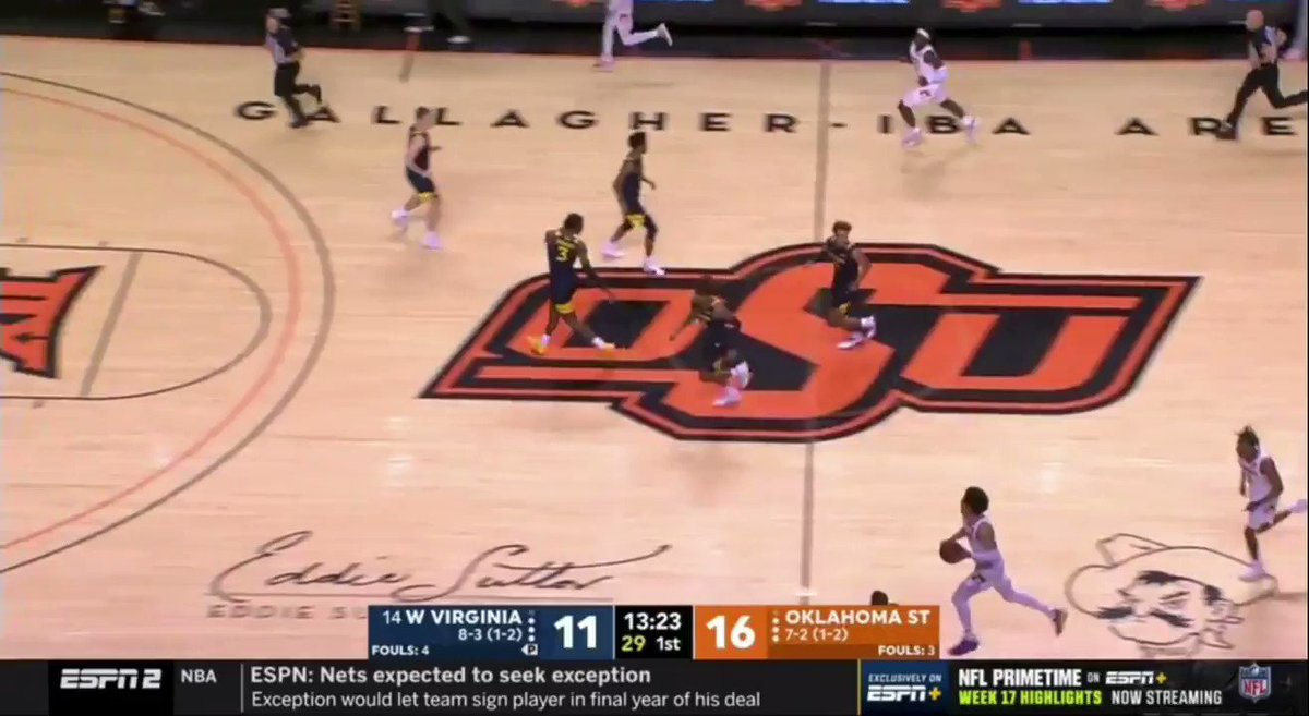 Go under ball-screens against Cade Cunningham at your own risk. https://t.co/fRu76wP54y