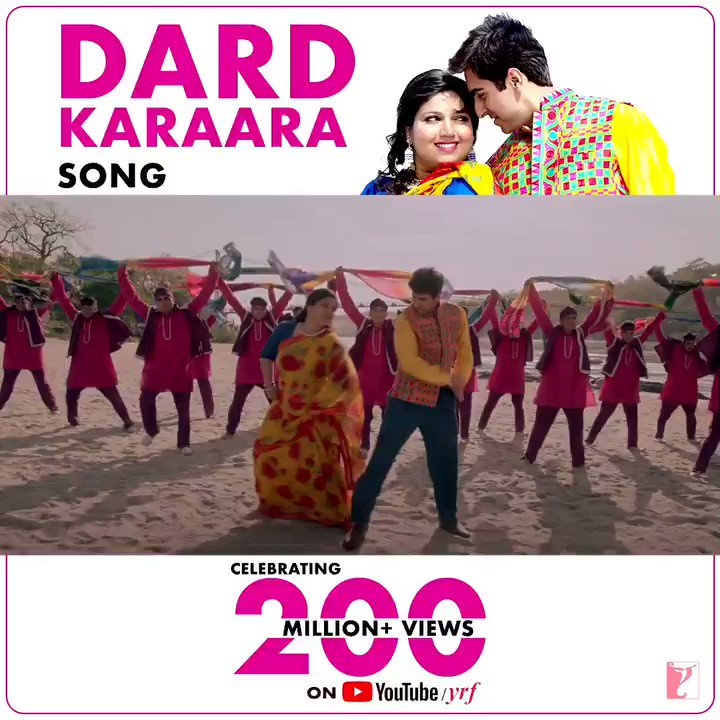 What a pleasure it was to dance to this melodious nostalgic tune! Thank you for 200 MILLION times of love  #DardKaraara    @ayushmannk @Sharatkatariya #ManeeshSharma @Singerkumarsan #SadhanaSargam @The_AnuMalik @varungrover