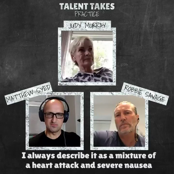Episode 3 #TalentTakesPractice is now LIVE... with special guest @JudyMurray 💃🏻❤️  🏆 Watching your sons in a Grand Slam final? 🏆 Taking to the @bbcstrictly dancefloor?   🎧