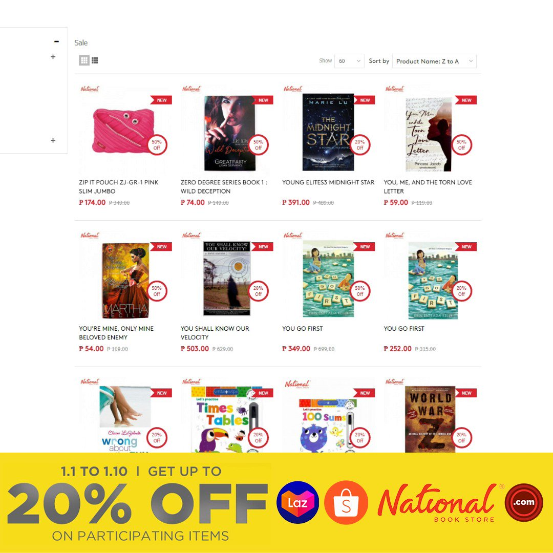 Shop online and get up to 20% OFF on participating books and supplies!  Add to cart and check out now: 🔗 🔗 🔗  #Sale #NBSsale #NBSeveryday