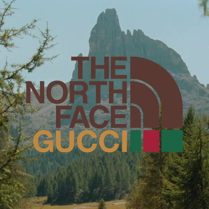Ready to explore from #TheNorthFacexGucci tent, part of the collaboration collection between the two brands. Discover more .