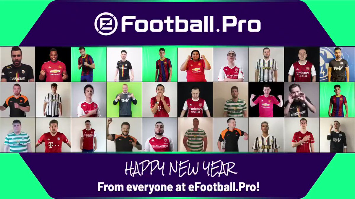 Happy New Year from everyone at !❄️  #PES2021 #eFootballPro #eFootballOpen