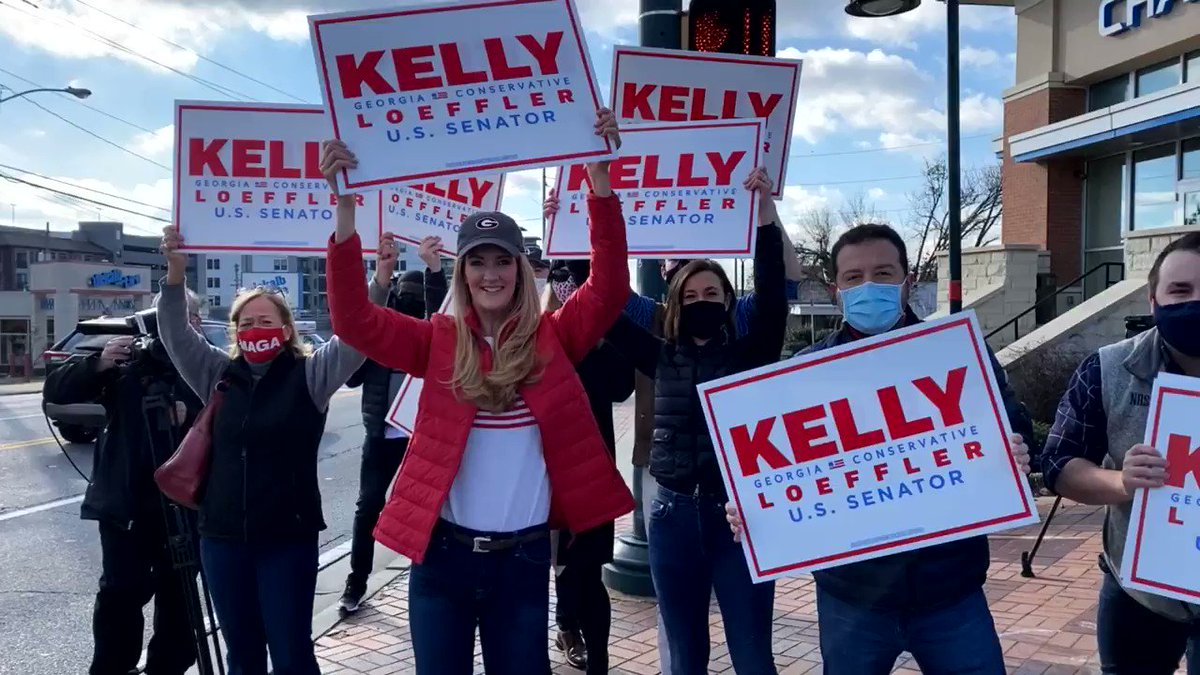 It's a GREAT morning to wave signs!   GO VOTE!   Then call your family, your friends, and neighbors and make sure they've voted too!   LET'S WIN 🇺🇸