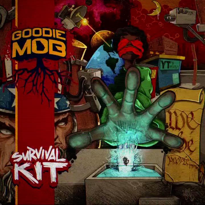 """""""Survival Kit"""" #GoodieMob 4MYPPL #NewVideo #ComingSoon #NEWALBUM now streaming on all platforms!! @tmogoodie @GippGoodie @CeeLoGreen #KhujoGoodie"""