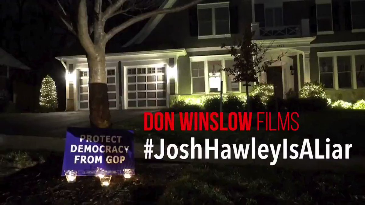 Replying to @Eleven_Films: Fuck around and find out @HawleyMO   #JoshHawleyIsALiar   New from @donwinslow 🔥