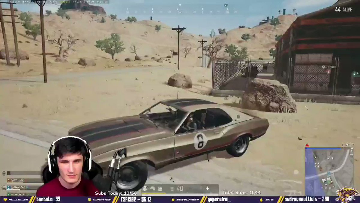 GaGOD - STILL loving the #PUBG vibes right now, we are straight disgusting!  M M M M Monster Kill!  #console #twitch