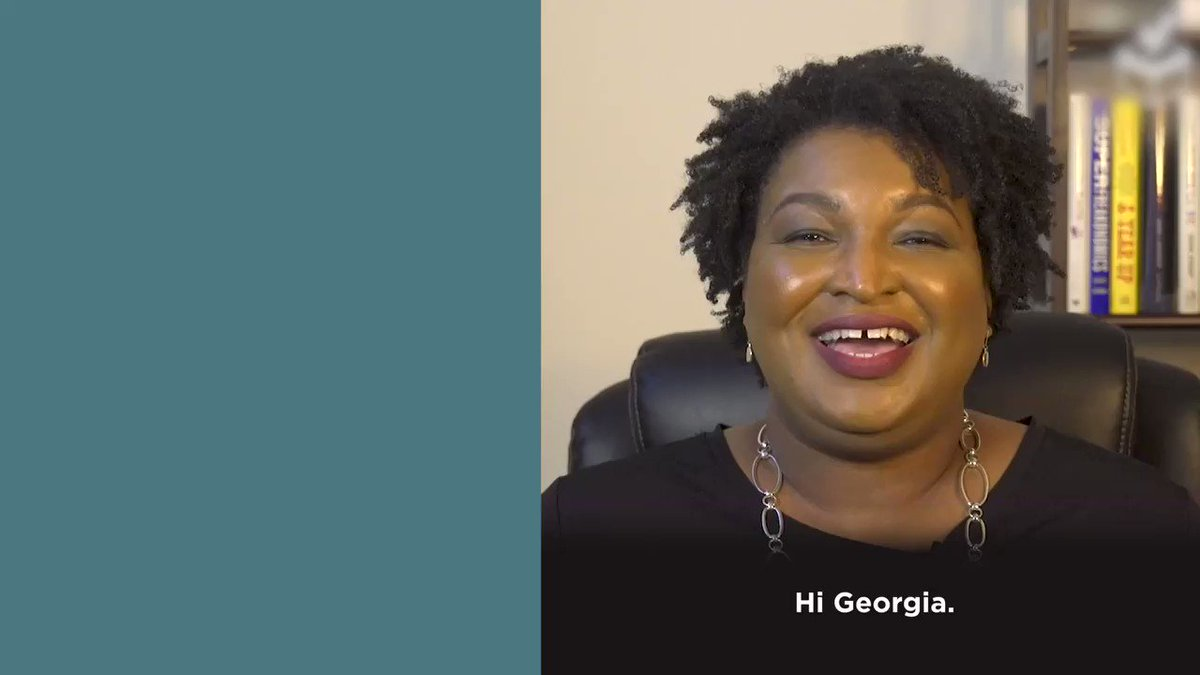 Replying to @staceyabrams: Georgians: If you're in line, STAY IN LINE! #gapol #gasen