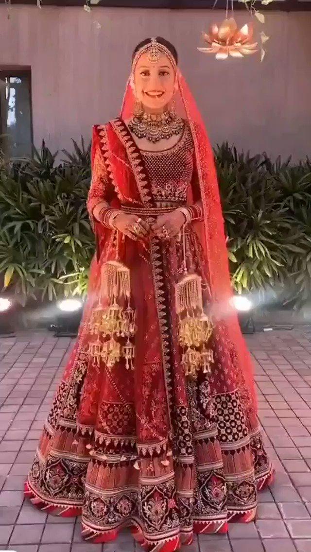 Beautiful Bride 😍 #dhanashreeverma  #DhanaSaidYuz #yuzvendrachahal