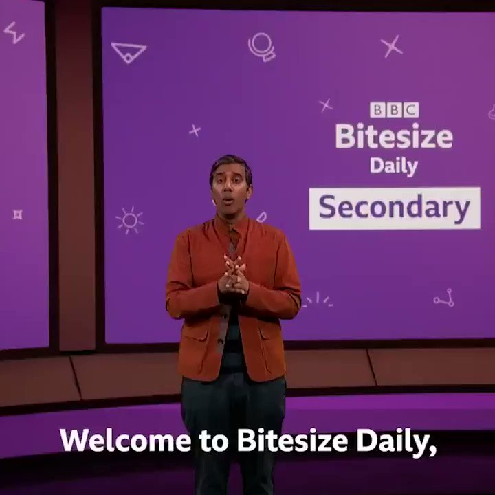 From Mon 11th, we're going on the telly!  Primary students check out @cbbc from 9am for #BBCBitesizeDaily & #BBCLiveLessons.  Secondary students tune in to @BBCTwo for Bitesize Daily, drama & factual titles.  Bitesize Daily will be on Red Button every week day & @BBCiPlayer.