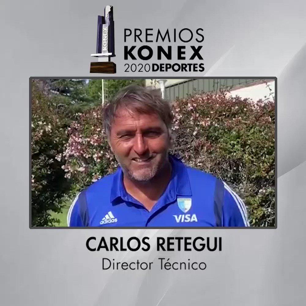 🏑@chaparetegui  obtuvo el #PremioKonex en la disciplina #DirectorTécnico como uno de los mejores de la última década en la Argentina.   🏆Compartimos sus palabras tras recibir el Premio Konex 2020.  Aquí su biografía en nuestra web 👇   #Hockey