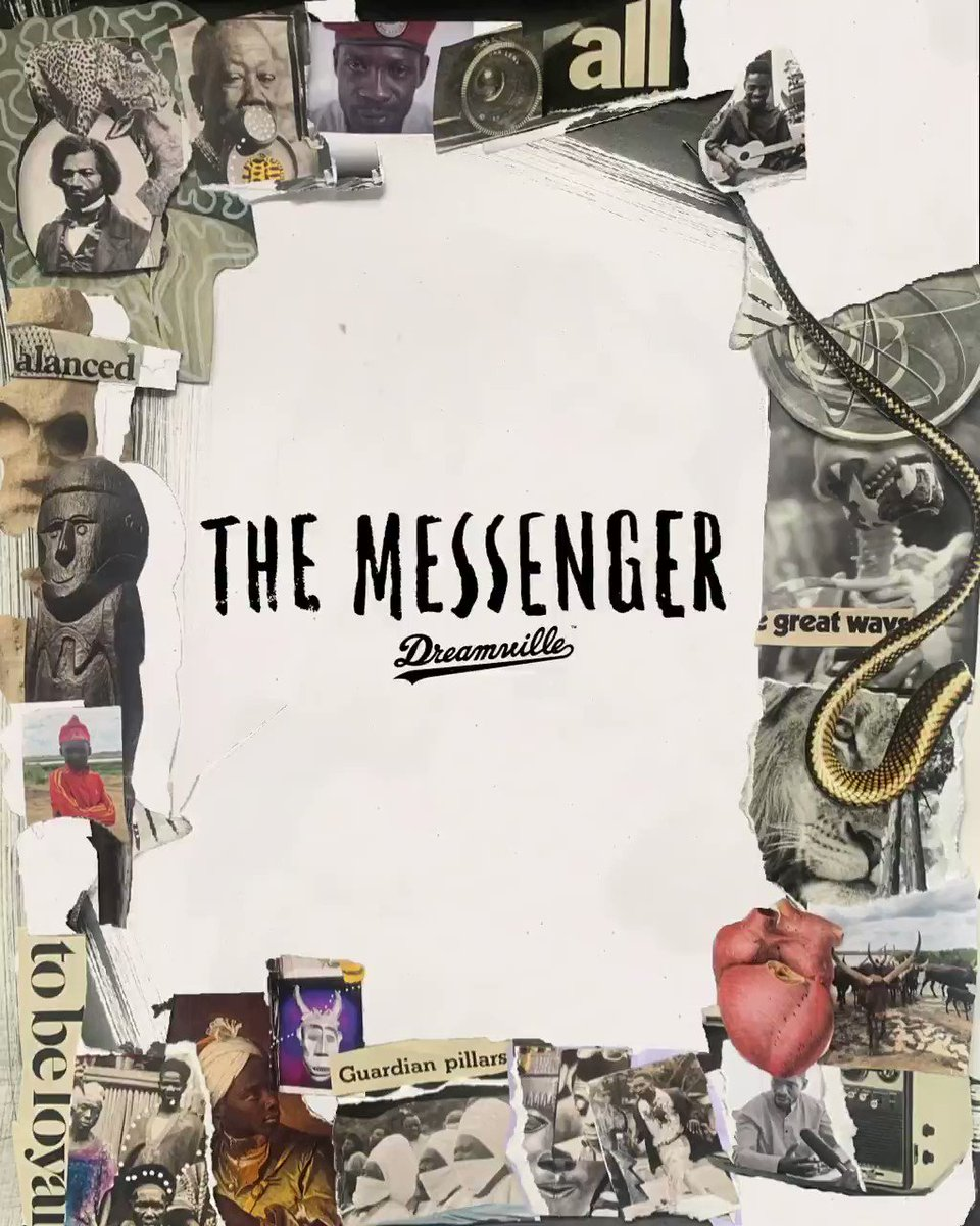.@Dreamville releases a podcast detailing the life & times of iconic Ugandan activist Bobi Wine (@HEBobiwine).  'The Messenger' is hosted by Sudanese-American artist @Bas.   🎧 Listen here: