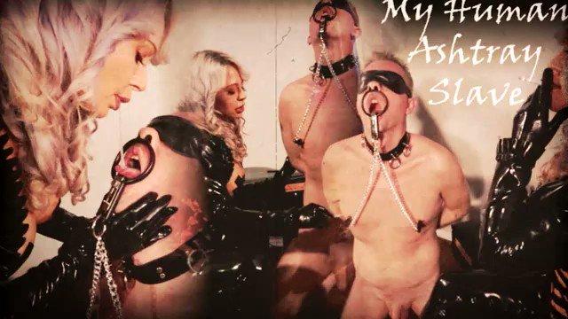 Human Ashtray Slave *HD 720* #GoddessAdara @Somethingfetish #slavetraining #humanashtray #smoking #femaledomination