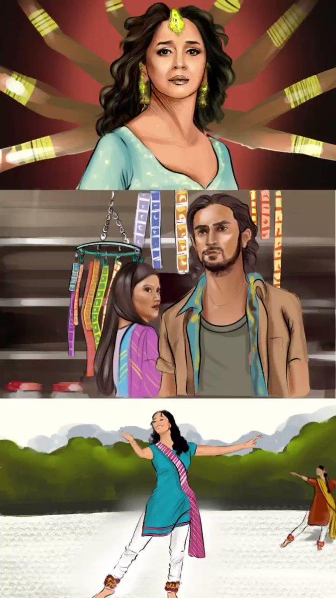 O re piya @MadhuriDixit @konkonas @kapoorkkunal #MadhuriDixit #konkona #kunalkapoor #orepiya