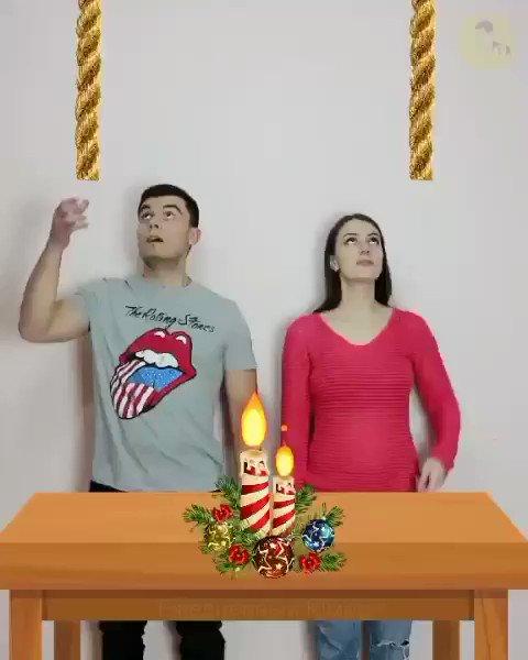 Рождественский челлендж 😁  #приколы #юмор #смешныевидео #рождество #срождеством #челлендж #джинглбелс #humor #jinglebells #merrychristmas #merrycristmas #christmas #cristmas #xmas