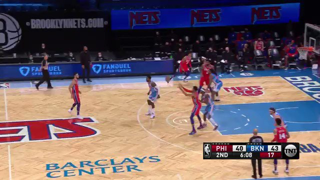 Ben Simmons pulls up from DEEP. https://t.co/rpHp0odThS