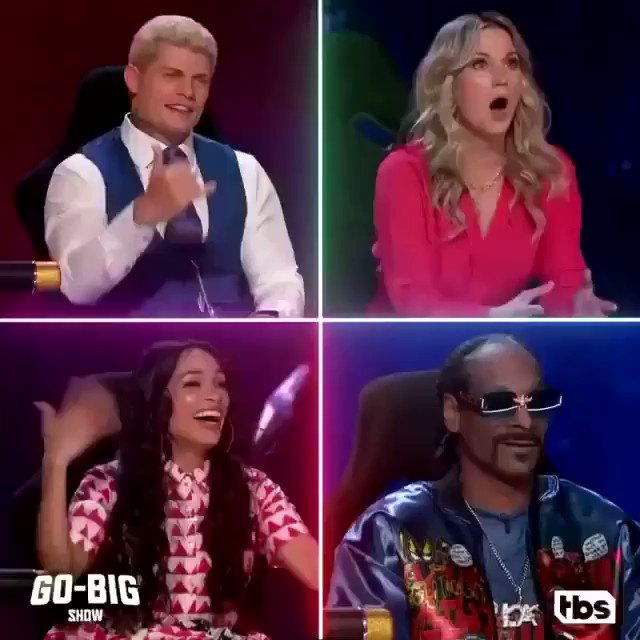 Getting ready for the premiere of @GoBigShowTBS tonight on @TBSNetwork  !!! U dont wanna miss this 1 @SnoopDogg @CodyRhodes @JenniferNettles @bertkreischer