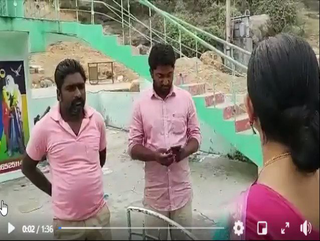 Christians ask Hindus to get lost as they have purchased entire hill. Hindus barred from visiting hill top shrine existing since ages. Tahsildar denies any such purchase/allotment but is blind to all constructions. This is the fundamental rights Hindus have in AP. #noconversion