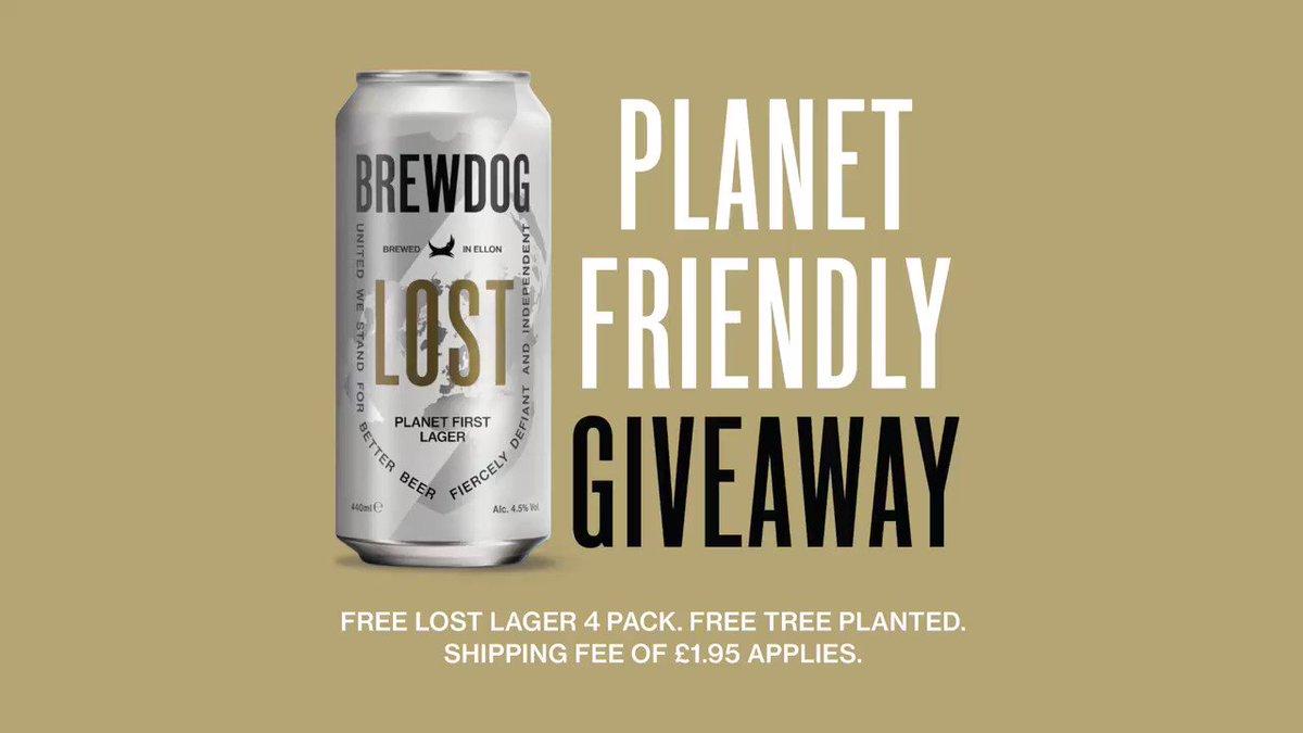 BrewDog раздаст британцам бесплатное пиво
