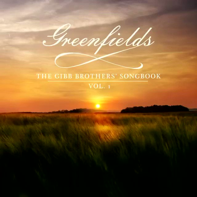 'm extremely proud to announce that my new album #greenfields The Gibb Brothers Songbook Vol. 1 has finally arrived and is available worldwide on all platforms. I really hope you all enjoy it. #barrygibb #newalbum