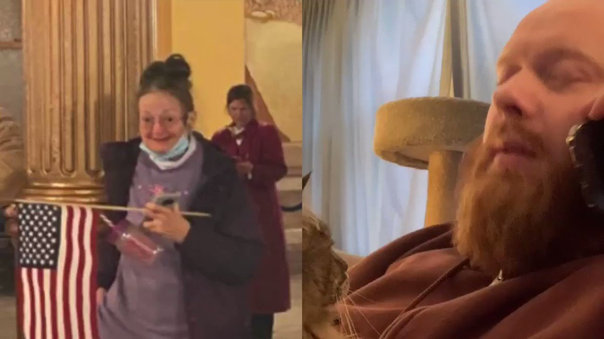 I can't believe my grandma stormed the capitol