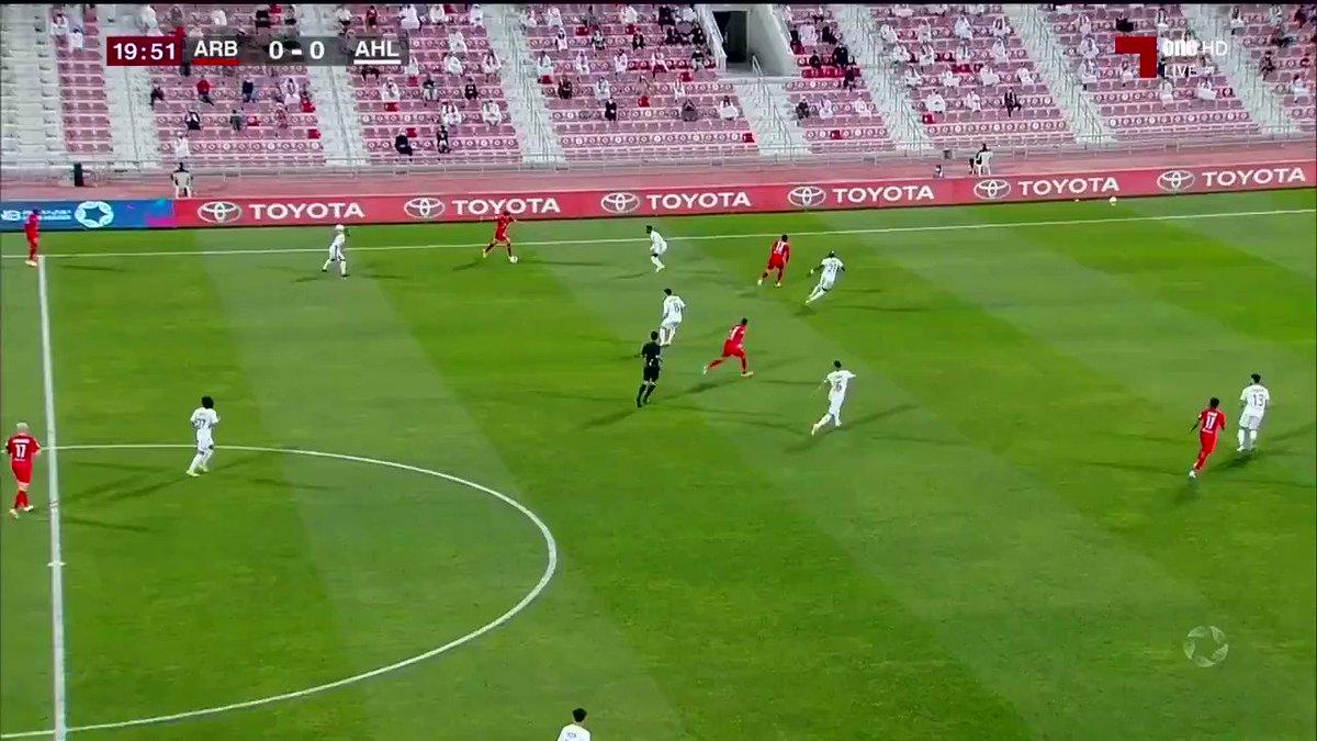 فيديو محمد صلاح يحرز يتقدم لـ العربي 1 0 على الأهلي في الجولة الـ 13 من دوري نجوم QNB