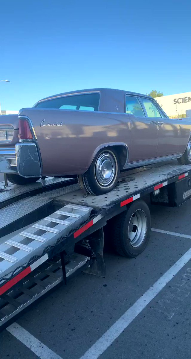 Say @KarlousM this '63 Continental kicking up some dust? 🤔