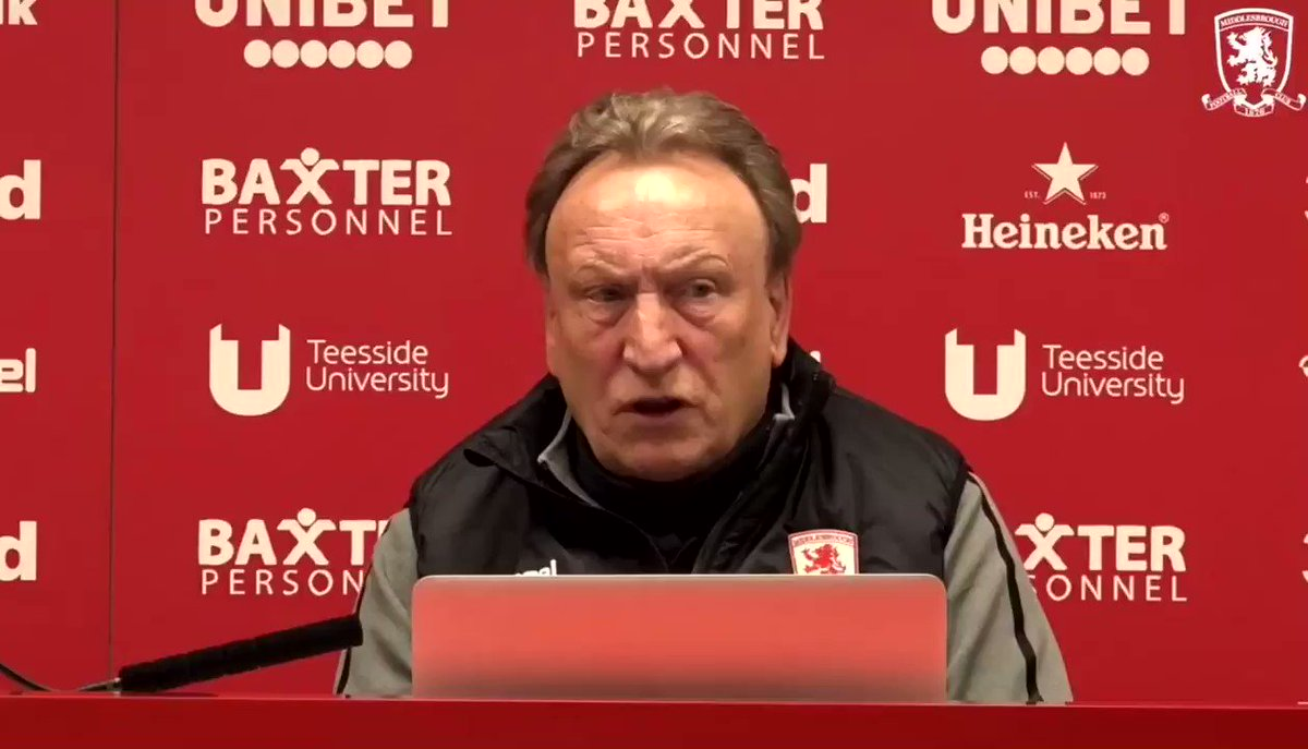 Warnock gets it. He really does get the fans doesn't he?