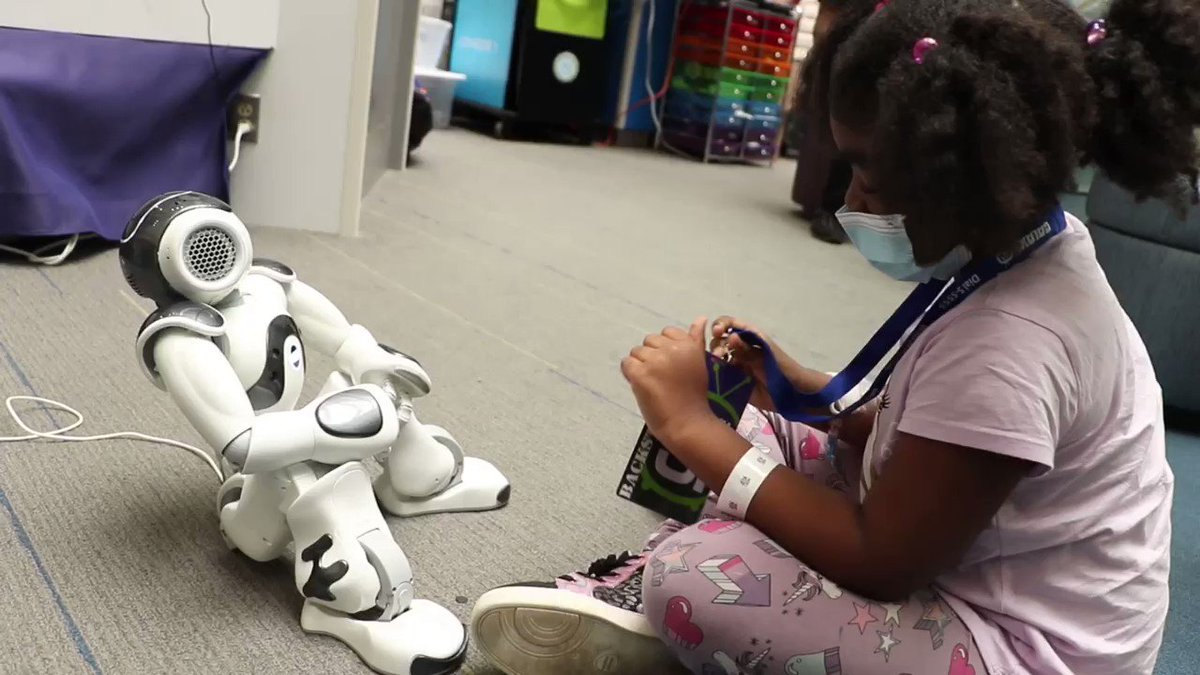 Simon Says everyone needs a robot like Nao! @ChildrensPhila