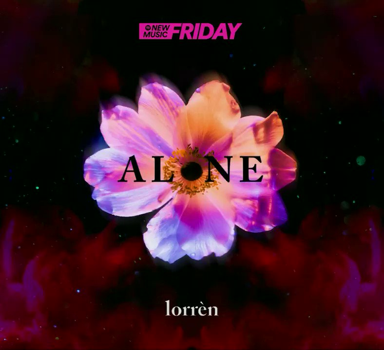 Image for the Tweet beginning: Today the new single 'Alone'