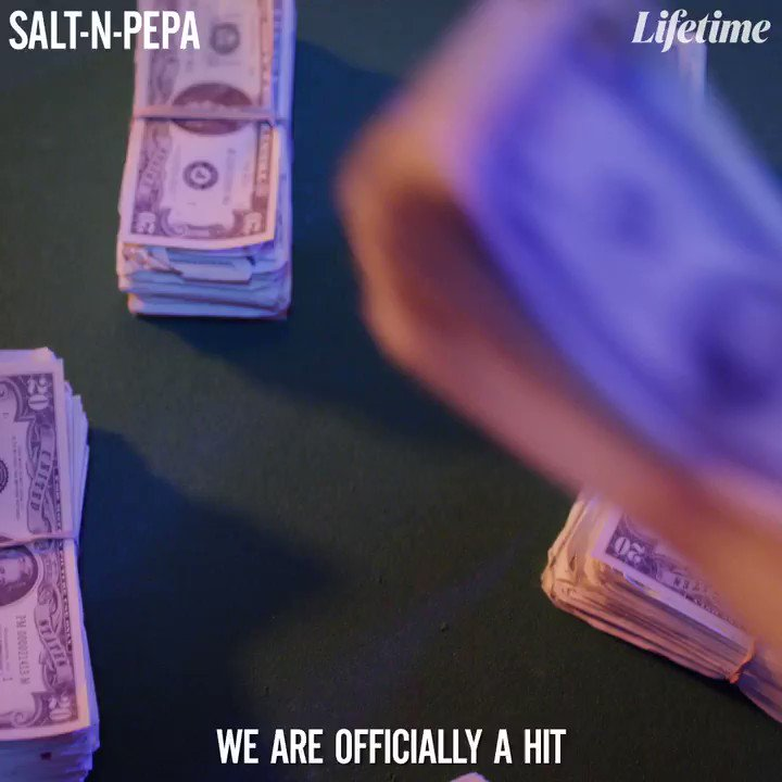 🎶 Oooh, baby, baby 🎶 Don't miss the premiere of #SaltNPepaMovie on @lifetimetv Saturday, January 23rd at 8/7c!