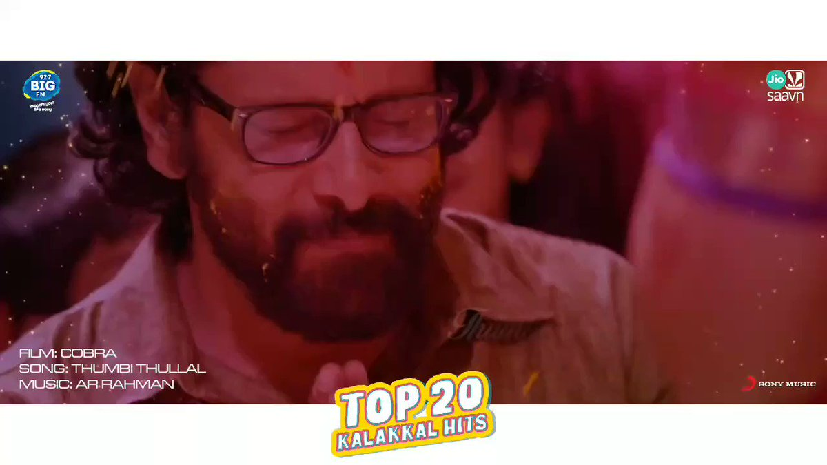 The melodious #ThumbiThullal from our #Top20KalakkalHits ! 🥰😍   Hit play here ➡️    @JioSaavn @BIGFMTamil