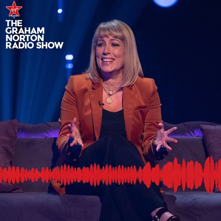 .@grahnort put @FayRipley's #ColdFeet knowledge to the test on #TheGrahamNortonRadioShow this morning!   Fay will be on Paul Sinha's #TVShowdown tonight at 10 PM on @ITV 📺