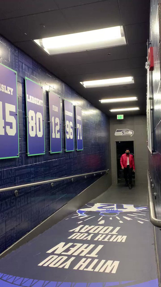 @Seahawks's photo on #GoHawks