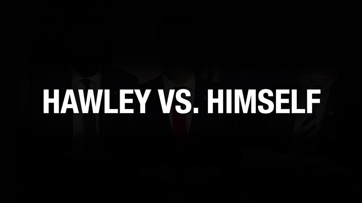 Can you really trust someone who talks out of both sides of their mouth?  #Hawley vs @HawleyMO ... in his own words.