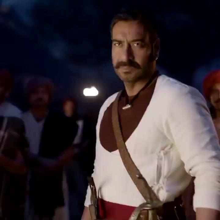 Celebrating 1 year of 'Tanhaji - The Unsung Hero'   #1YearOfTanhaji #BhushanKumar @Tseries @itsKajolID #SaifAliKhan @SharadK7 @omraut @KumarMangat @Meena_Iyer #VikrantSharma #DharmendraSharma @NYvfxwala @AAFilmsIndia @AjayDevgnFilms @ajaydevgn