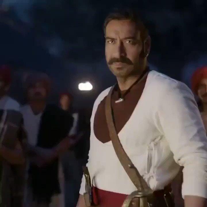 Celebrating Great Warrior Story   #1YearOfTanhaji Har Har Mahadev  @ajaydevgn #BhushanKumar  @itsKajolD #SaifAliKhan @SharadK7 @omraut @KumarMangat @Meena_Iyer #VikrantSharma @nyvfxwaala #DharmendraSharma @AAFilmsIndia